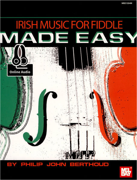 Mel Bay Irish Music For Fiddle Made