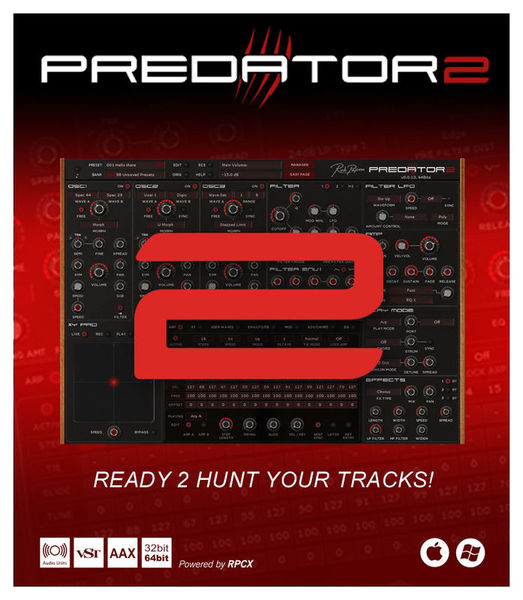 Predator 2 Rob Papen