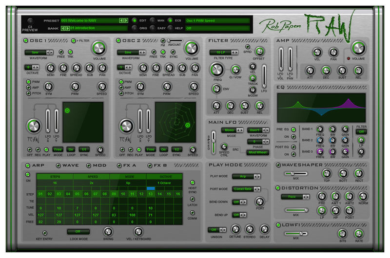 RAW Rob Papen