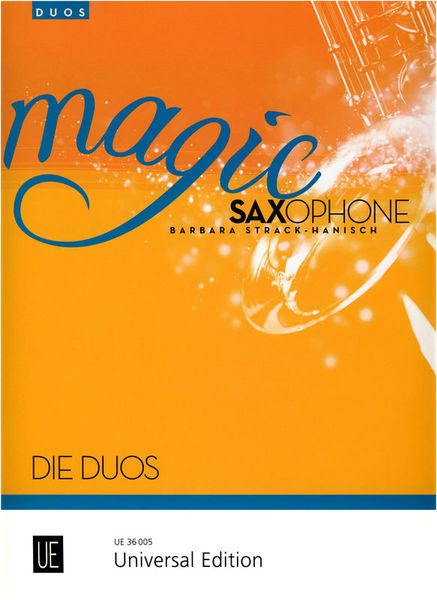 Universal Edition Magic Saxophone Die Duos