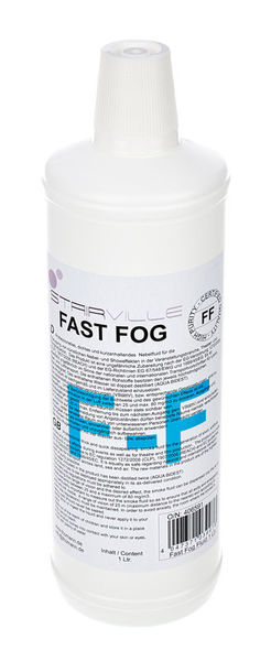 Stairville Fast Fog Fluid 1l - CO2 Effect