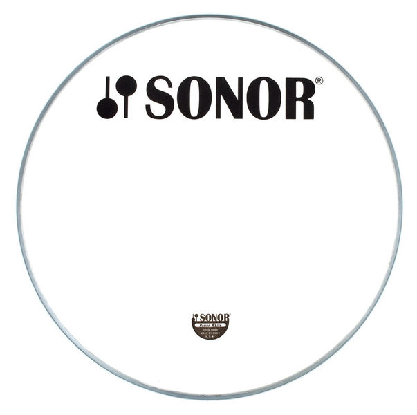 Sonor PW18BL Bass Reso Head White