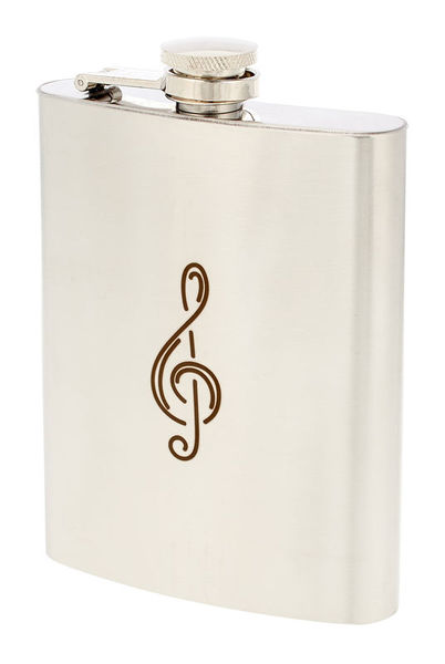 Art of Music Hip Flask G-Clef