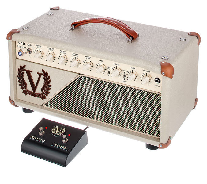 V40 Deluxe Head Victory Amplifiers