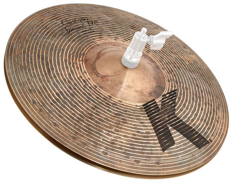 """Zildjian 13"""" K Custom Special Dry Hats"""
