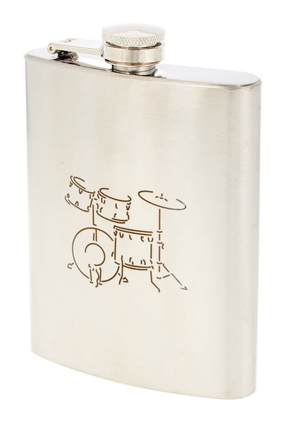 Art of Music Hip Flask Drums
