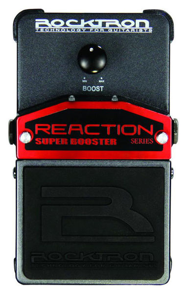 Rocktron Reaction Super Booster Pedal