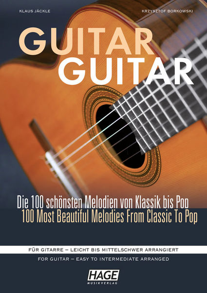 Guitar Guitar Hage Musikverlag