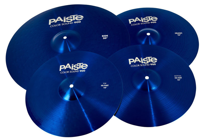 Paiste 900 Color Univ. Cymbal Set BL