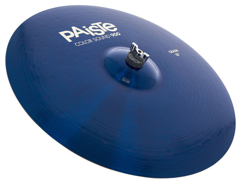 "Paiste 18"" 900 Color Sound Crash BLUE"