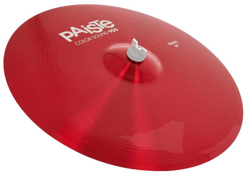 """Paiste 19"""" 900 Color Sound Crash RED"""