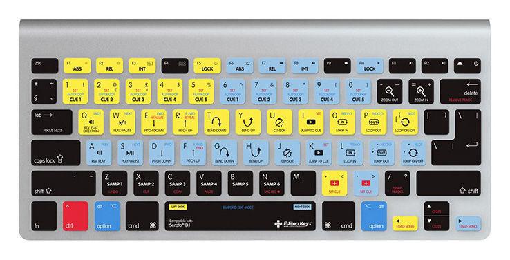 Editors Keys Keyboard Skin Serato DJ