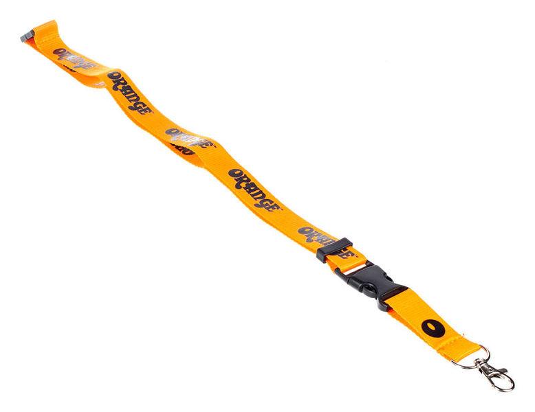 Orange Keyholder Neckband