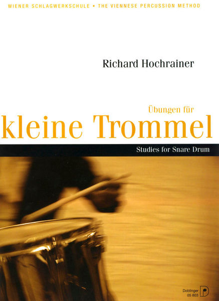 Doblinger Musikverlag Studies for Snare Drum