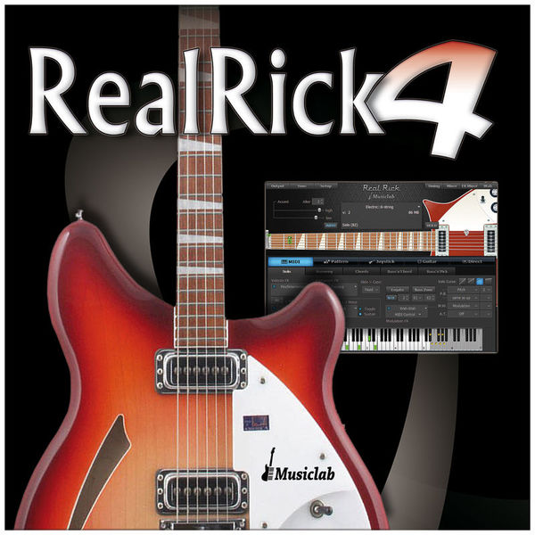 MusicLab RealRick 4