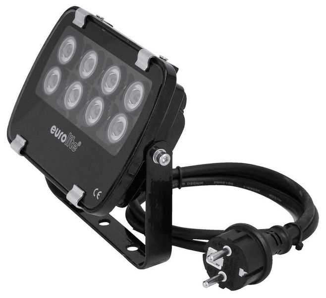 LED IP FL-8 green 30° Eurolite