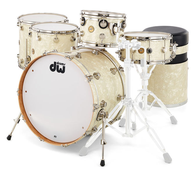 DW Finish Ply Vintage Jazz Pearl