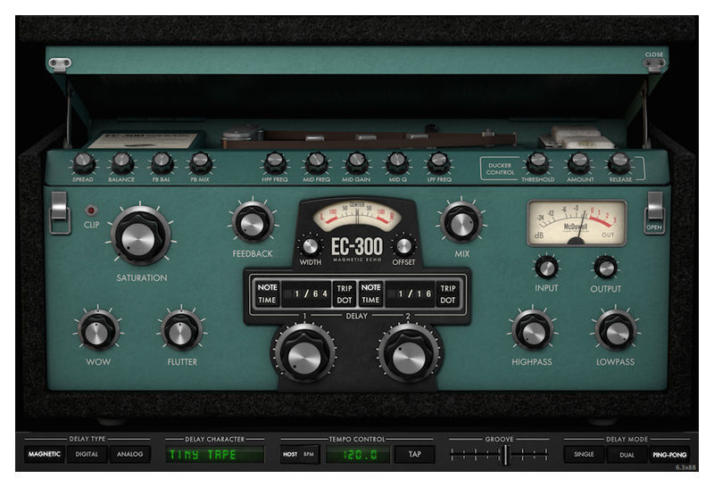 McDSP EC-300 Echo Collection HD