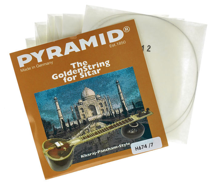 Pyramid M674/7 Medium Sitar Strings
