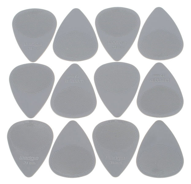 Wedgie Nylon XT Pick 0,73mm Set Gray