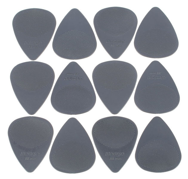 Wedgie Nylon XT Pick 0,88mm Set Dgray