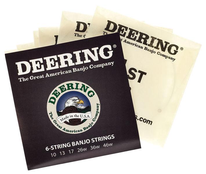 Deering 6-string Banjo String Set