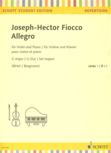 Schott Fiocco Allegro G major