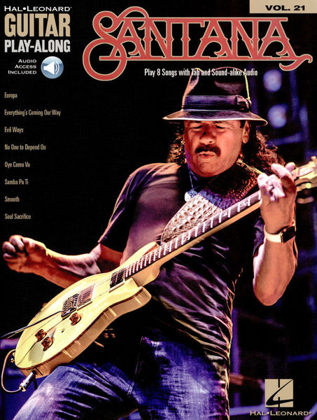 Hal Leonard Guitar Play-Along: Santana