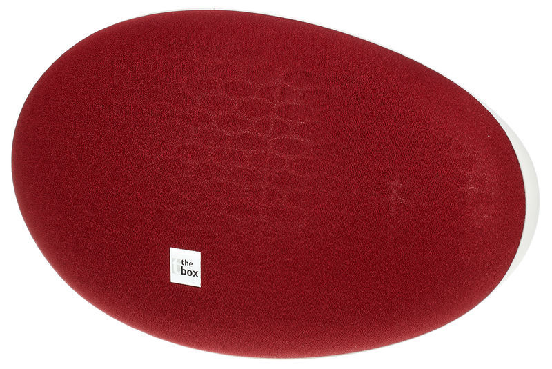 the box Oval 6 Red