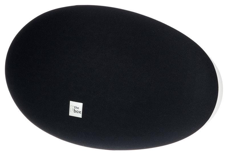 the box Oval 6 Black