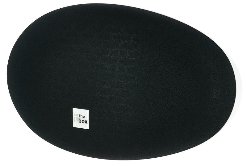 the box Oval 10 Black