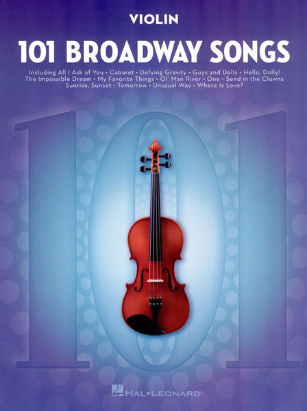 Hal Leonard 101 Broadway Songs: Violin