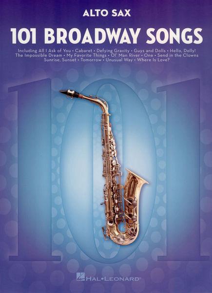 Hal Leonard 101 Broadway Songs: Alto Sax.