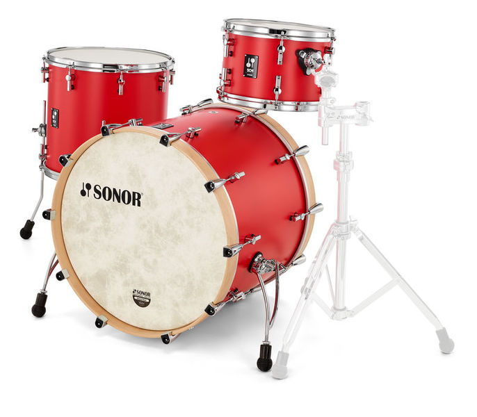Sonor SQ1 Rock Hot Rod Red