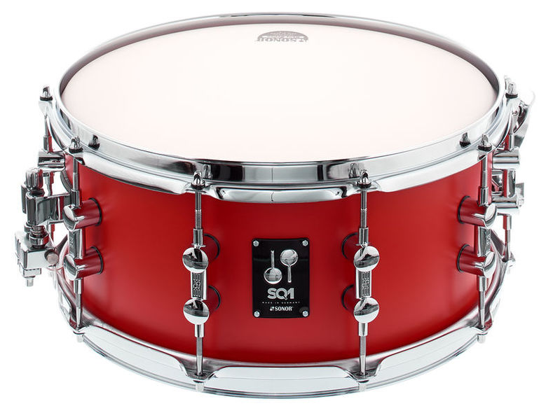 "Sonor SQ1 14""x6,5"" Snare Hot Rod Red"