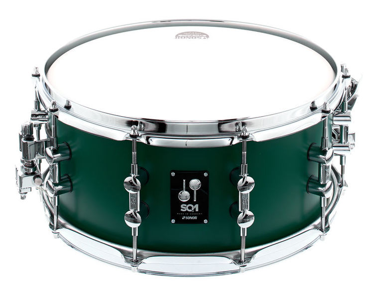"Sonor SQ1 14""x6,5"" Snare Road. Green"