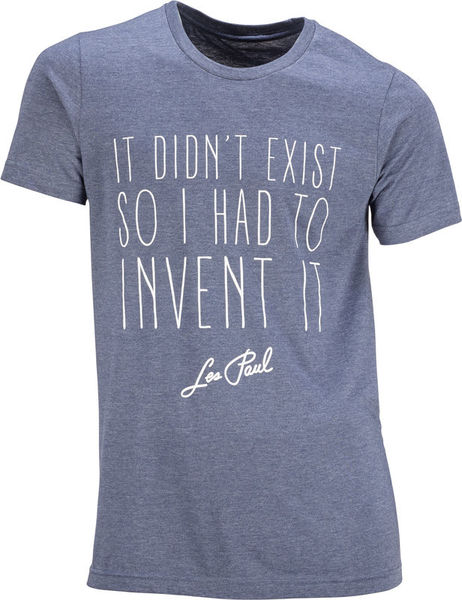Les Paul Merchandise T-Shirt It Didn´t Exist So S