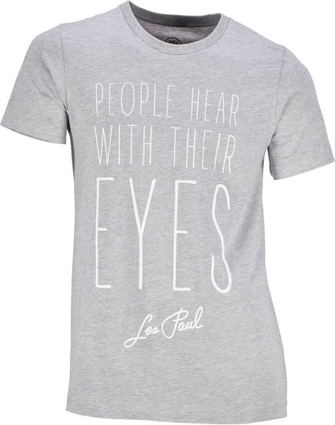 Les Paul Merchandise T-Shirt People Hear With XXL