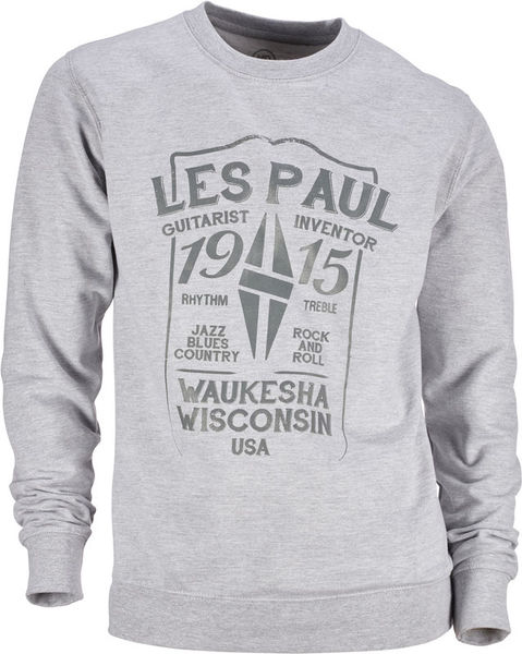 Les Paul Merchandise Sweat Shirt Les Paul 1915 S