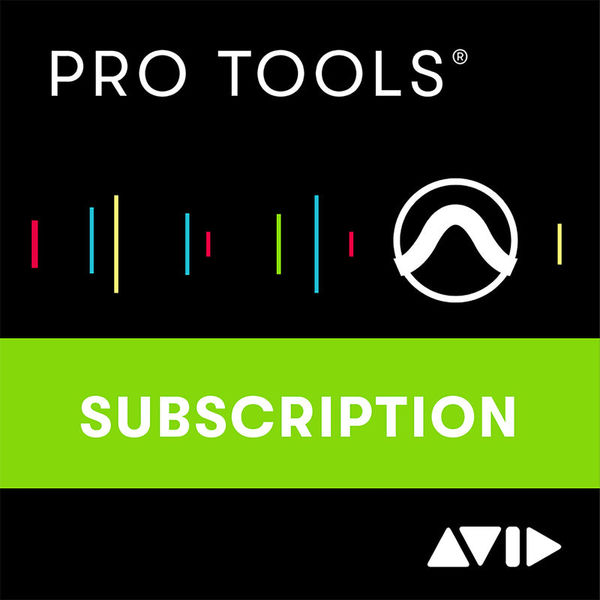 Pro Tools 1Y Subscription Avid