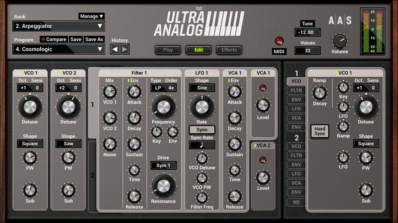 Applied Acoustics Systems Ultra-Analog VA-2 Upgrade