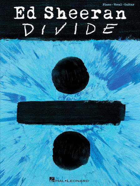 Hal Leonard Ed Sheeran Divide Piano