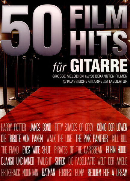 Bosworth 50 Filmhits for Gitarre