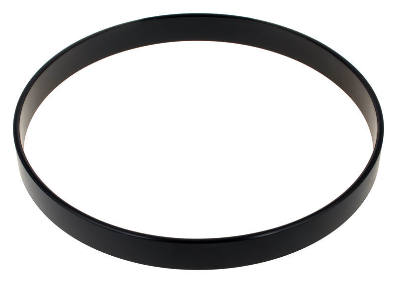 "22"" Bass Drum hoop black Millenium"