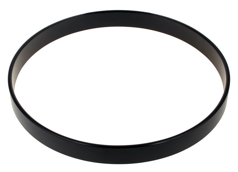 "20"" Bass Drum hoop black Millenium"