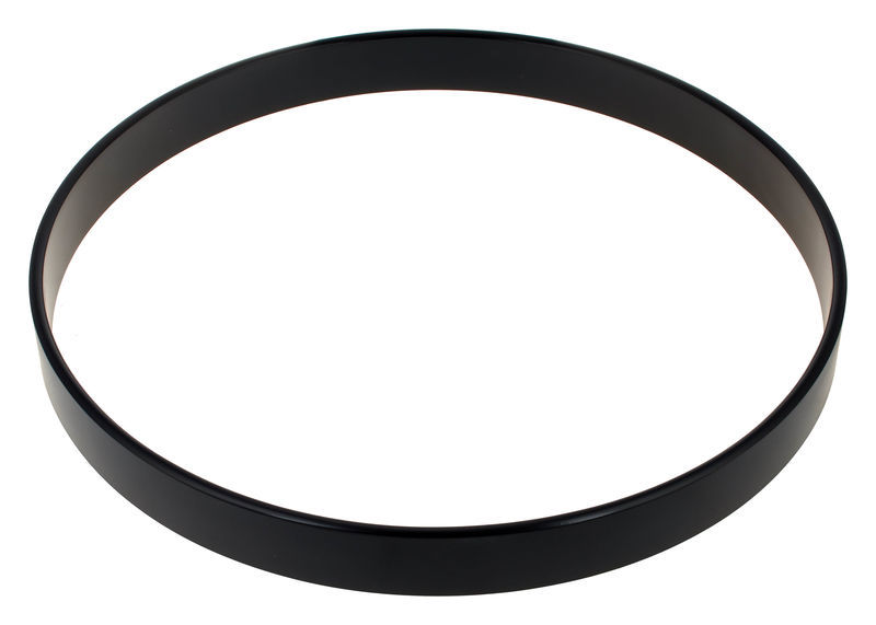 "18"" Bass Drum hoop black Millenium"