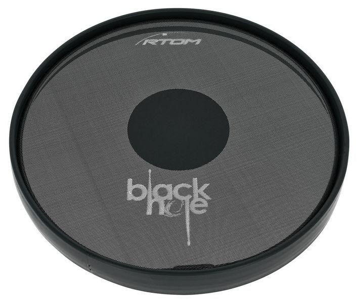 "Rtom 12"" Black Hole Practice Pad"