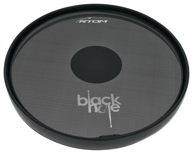"Rtom 13"" Black Hole Practice Pad"