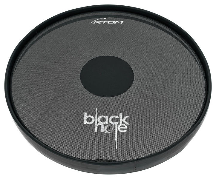 "Rtom 14"" Black Hole Practice Pad"