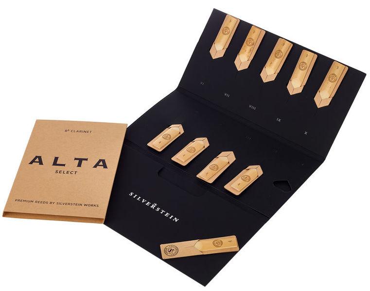 Silverstein ALTA Clar Reeds (10 piece) 4